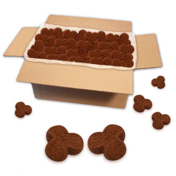 Kakao Kleeblatt-Kekse, lose Ware - 2 kg