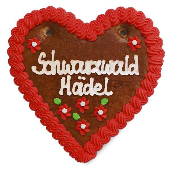 Lebkuchenherz 14cm - Schwarzwald Mädel