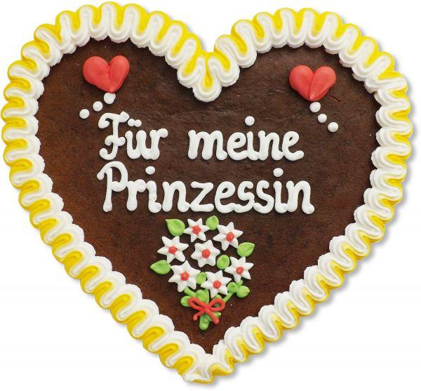 Lebkuchenherz 23cm - Für meine Prinzessin