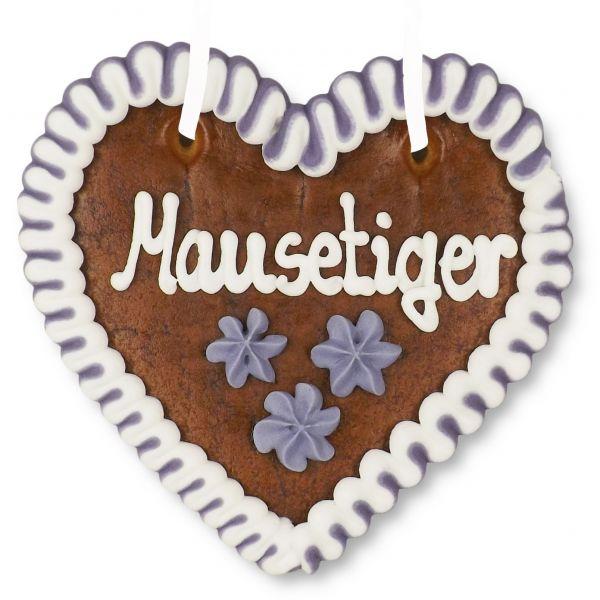 Lebkuchenherz 12cm - Mausetiger